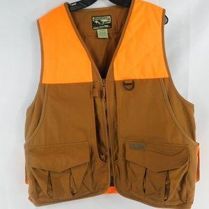 Field & Stream XL Brown & Orange Duck Hunting Vest